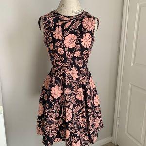 Jill Stuart fit and flare floral dress